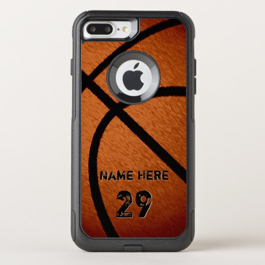 pretty nice 749d2 b9068 Cool Burnished Personalised Basketball Phone Cases