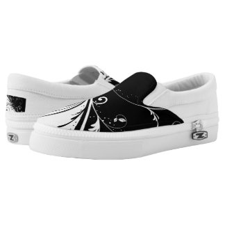 Cool BW Slip-On Shoes