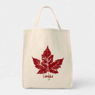Cool Canada Tote Bag Retro Canada Totebag