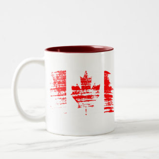 Cool Canadian flag design Coffee Mug