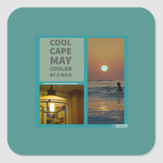 Cool Cape May Stickers