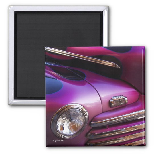 Cool Car Square Magnet