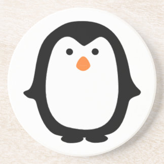 Cool Cartoon Penguin Coaster