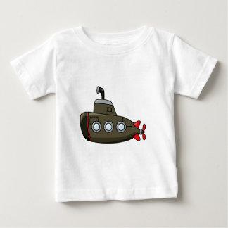 Cool Cartoon Submarine Baby T-Shirt