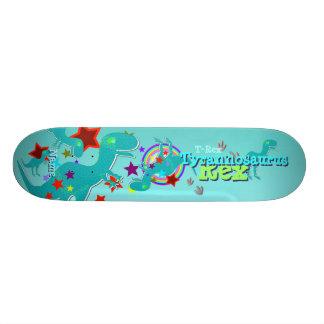 Cool Cartoon T-Rex Skateboard