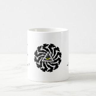 Cool cartoon tattoo symbol Third Eye Wisdom Basic White Mug