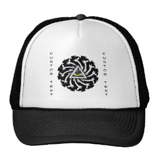 Cool cartoon tattoo symbol Third Eye Wisdom Cap