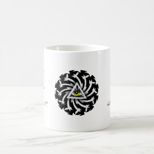 Cool cartoon tattoo symbol Third Eye Wisdom Coffee Mug