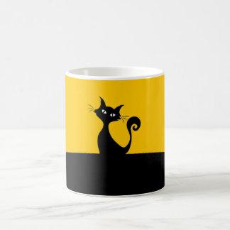 Cool Cat Artistic Coffee Tea Mug