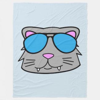 Cool Cat Fleece Blanket
