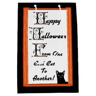 Cool Cat Halloween Gift Bag
