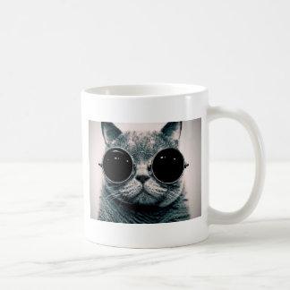 Cool Cat In Sunglasses Novelty Mug