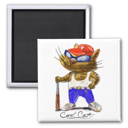 Cool Cat Magnet