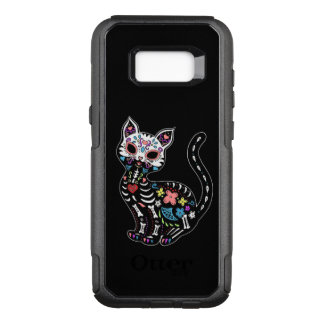 cool cat OtterBox commuter samsung galaxy s8+ case
