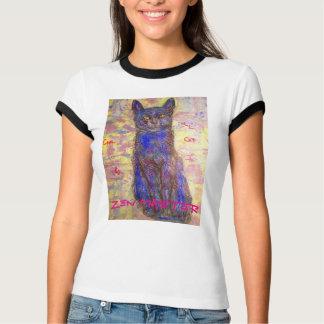 cool cat zen master t-shirt