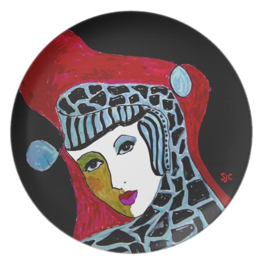Cool Catherine Plate