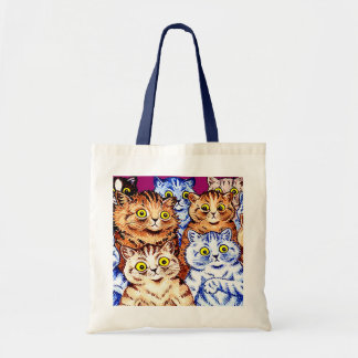 Cool Cats by Louis Wain Budget Tote Bag