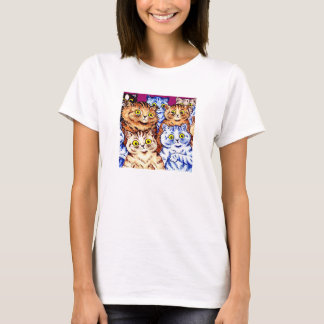 Cool Cats by Louis Wain T-Shirt