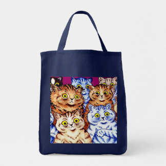 Cool Cats by Louis Wain Tote Bag