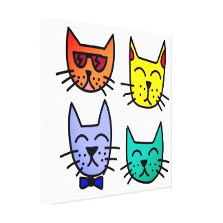 Cool Cats Canvas Print