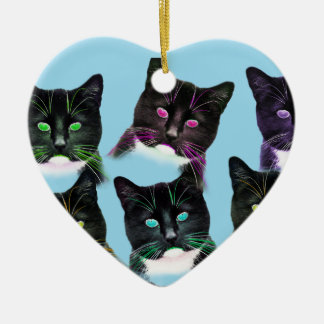 Cool Cats Christmas Ornament