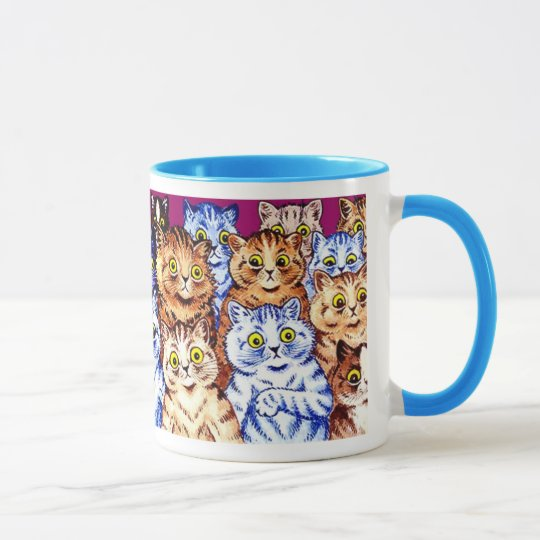 Cool Cats Mug by Louis Wain