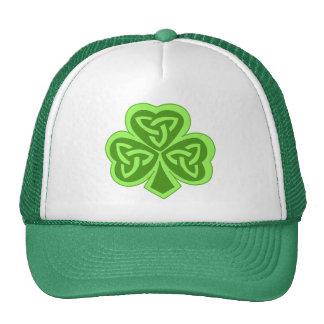Cool Celtic Knot Shamrock Mesh Hats