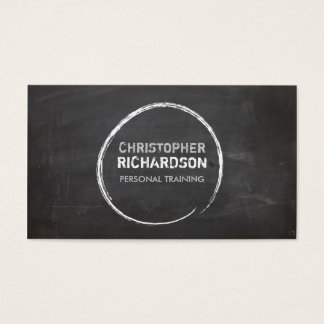 COOL CHALKBOARD CIRCLE with YOUR NAME