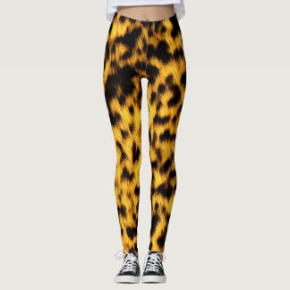 Cool Cheetah Rave Love Leggings