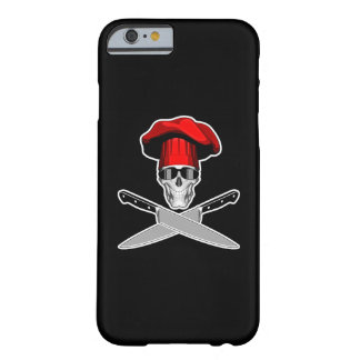 Cool Chef Skull v2 Barely There iPhone 6 Case