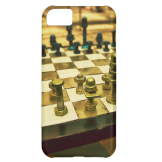 Cool Chess Board with Nuts and Bolts iPhone 5C Case