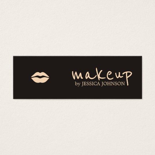 Cool Chic Dark Pale Pink Lips Makeup Artist