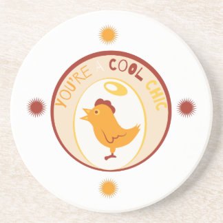 Cool Chick Drink Coasters