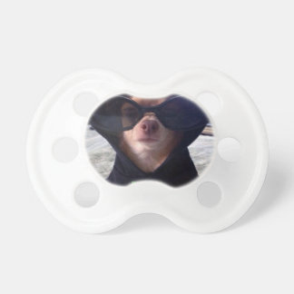 Cool Chihuahua BooginHead Pacifier