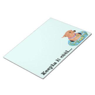 Cool Chihuahua Notepad