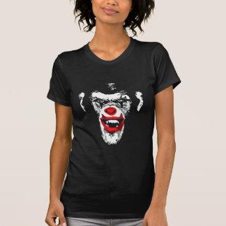 Cool Chimp White Scary Clown Chimpanzee T-Shirt