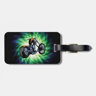 Cool Chopper Luggage Tag