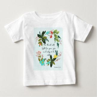 Cool Christian Art - Exodus 14:14 Baby T-Shirt