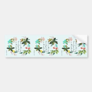 Cool Christian Art - Matthew 10:30 Bumper Stickers