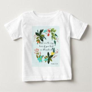 Cool Christian Art - Matthew 10:30 Tshirt