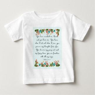 Cool Christian Art - Psalm 139:1-3 T-shirt