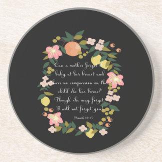 Cool Christian Art - Psalm 145:17 Drink Coasters