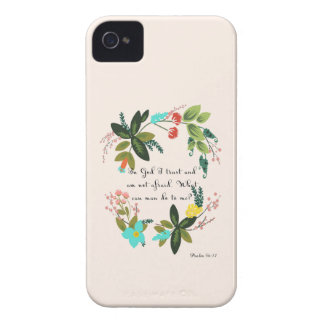 Cool Christian Art  - Psalm 56:11 iPhone 4 Case-Mate Cases