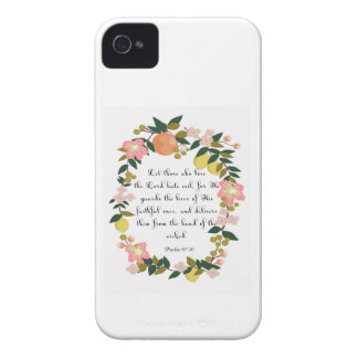 Cool Christian Art - Romans 8:37 iPhone 4 Cover
