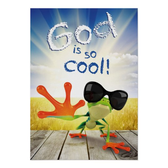 COOL Christian poster for kids religious wall art