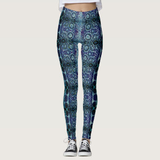 Cool Circle Patterns Leggings