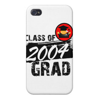 Cool Class of 2004 Grad Case For iPhone 4