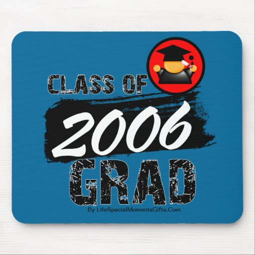 Cool Class of 2006 Grad Mouse Pad