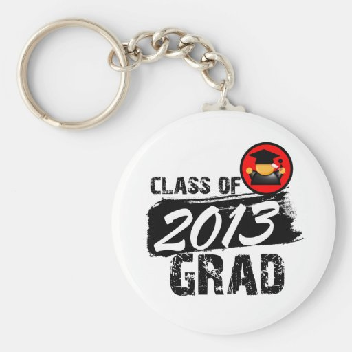 Cool Class of 2013 Grad Keychains