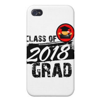 Cool Class of 2018 Grad iPhone 4 Cover